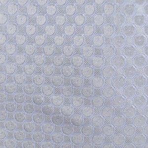 DKNY Mens Necktie Gray Blue Geometric Tie